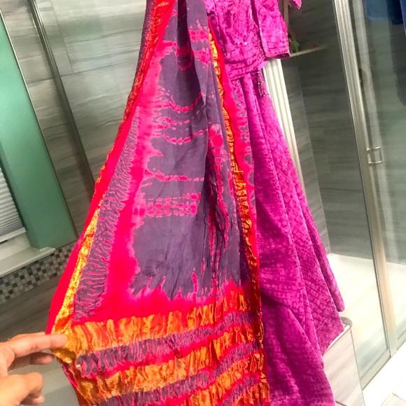 Chaniya choli Lengha Indian Saree sari dress